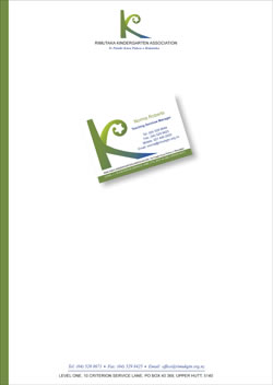 matching business card and letterhead